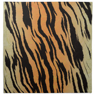 Tiger seamless pattern texture background napkin