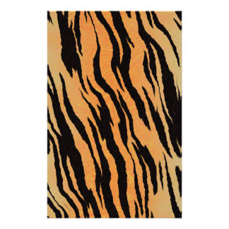 Tiger seamless pattern texture background stationery