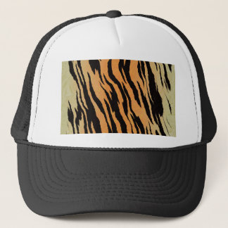 Tiger seamless pattern texture background trucker hat