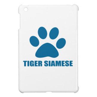 TIGER SIAMESE CAT DESIGNS iPad MINI COVERS