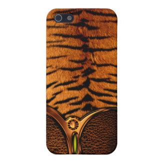 Tiger Skin Pattern iPhone 4 Case