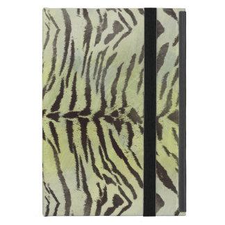 Tiger Skin Print in Lime Chartreuse iPad Mini Covers