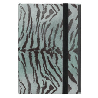 Tiger Skin Print in Minty Jade Covers For iPad Mini