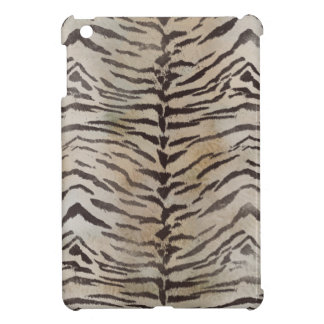 Tiger Skin Print in Natural ivory Cover For The iPad Mini