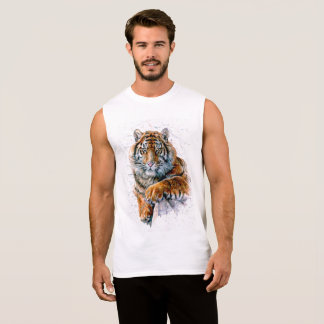 Tiger Sleeveless Shirt