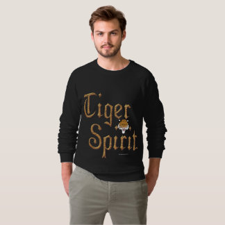 Tiger Spirit17 Men's Raglan Sweatshirt