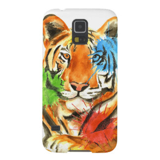 Tiger Splatter Galaxy S5 Case