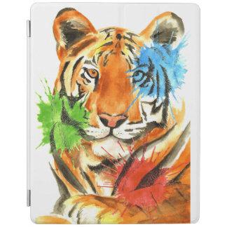 Tiger Splatter iPad Cover