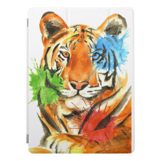 Tiger Splatter iPad Pro Cover
