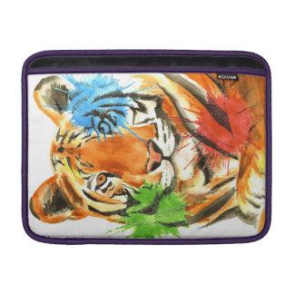 Tiger Splatter MacBook Sleeve