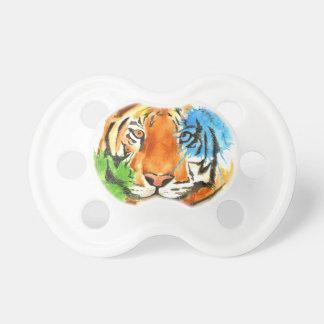 Tiger Splatter Pacifier