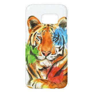 Tiger Splatter Samsung Galaxy S7 Case