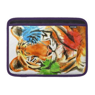 Tiger Splatter Sleeve For MacBook Air