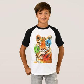 Tiger Splatter T-Shirt