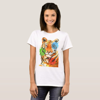 Tiger Splatter T-Shirt
