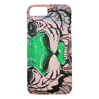 Tiger Street Art Illustrated iPhone 7 Case