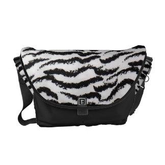 tiger stripe bag messenger bag