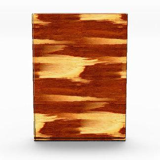 Tiger Stripe Bamboo Wood Grain Look