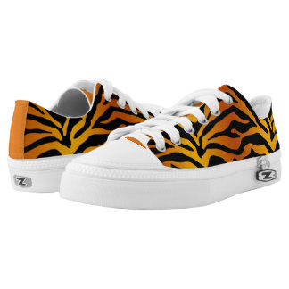 Tiger stripe Low-Top sneakers