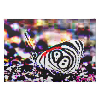 Tiger-Striped Butterfly Placemat