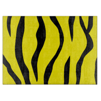 Tiger-striped Cutting Board