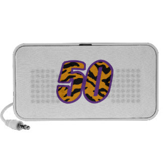 TIGER STRIPED FIFTY PORTABLE SPEAKER