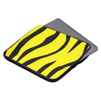 Tiger-striped Laptop Sleeve