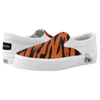 Tiger Striped slip on - Tigers love stripes!