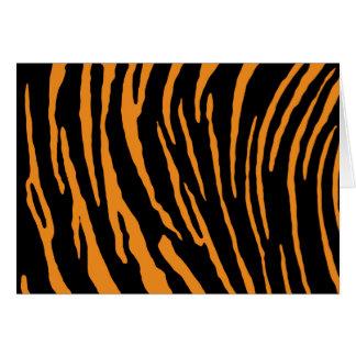 Tiger Stripes Card