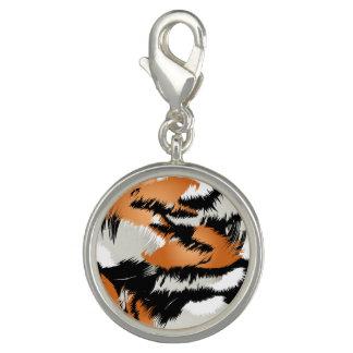 Tiger stripes charm