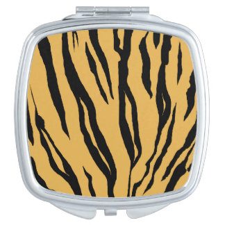 Tiger Stripes Compact Mirror