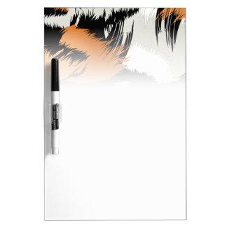 Tiger stripes dry erase board