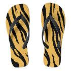 Tiger Stripes Flip Flops