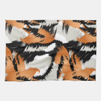 Tiger stripes kitchen towel