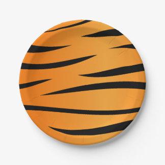 Tiger Stripes Paper Plate