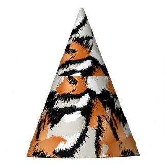 Tiger stripes party hat