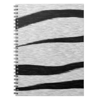 Tiger Stripes Pattern. Notebook