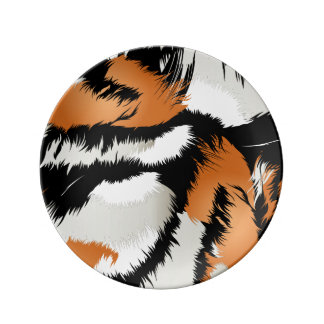 Tiger stripes plate