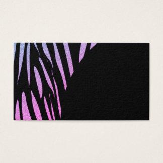 Tiger Stripes Print Wild Safari Business Cards