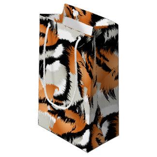 Tiger stripes small gift bag