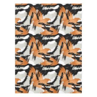 Tiger stripes tablecloth