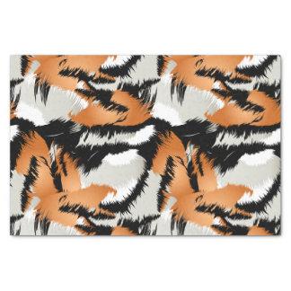 Tiger stripes tissue paper
