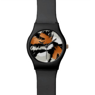 Tiger stripes wristwatch
