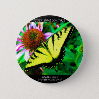 Tiger Swallowtail 2 Inch Round Button