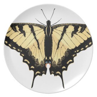 Tiger Swallowtail Butterfly 2 Plate