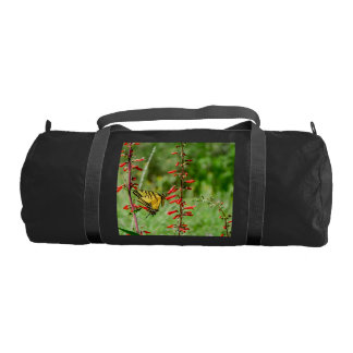 Tiger Swallowtail Butterfly and Wildflowers Gym Bag