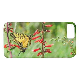 Tiger Swallowtail Butterfly and Wildflowers iPhone 8/7 Case