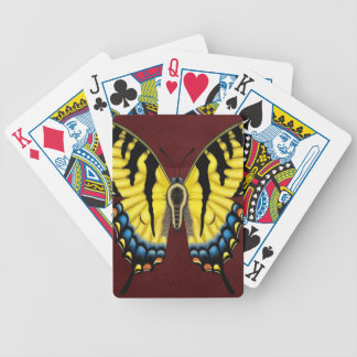 Tiger Swallowtail Butterfly Bicycle Playing Cards