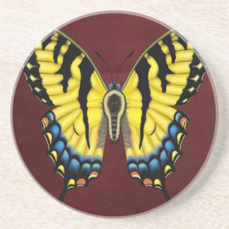 Tiger Swallowtail Butterfly Coasters