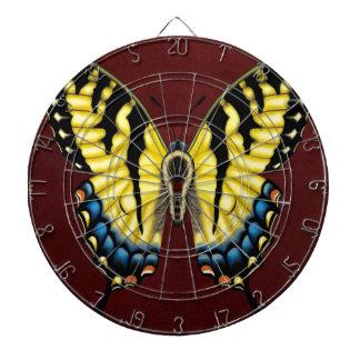Tiger Swallowtail Butterfly Dart Board